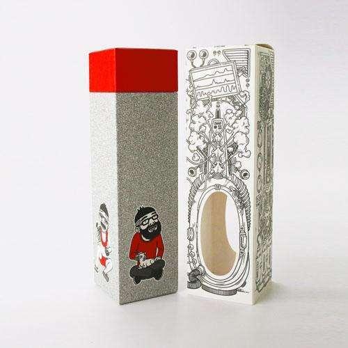 彩盒包裝設計精裝酒盒