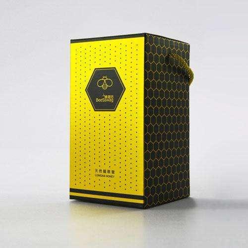彩盒包裝設計瓦愣手提盒