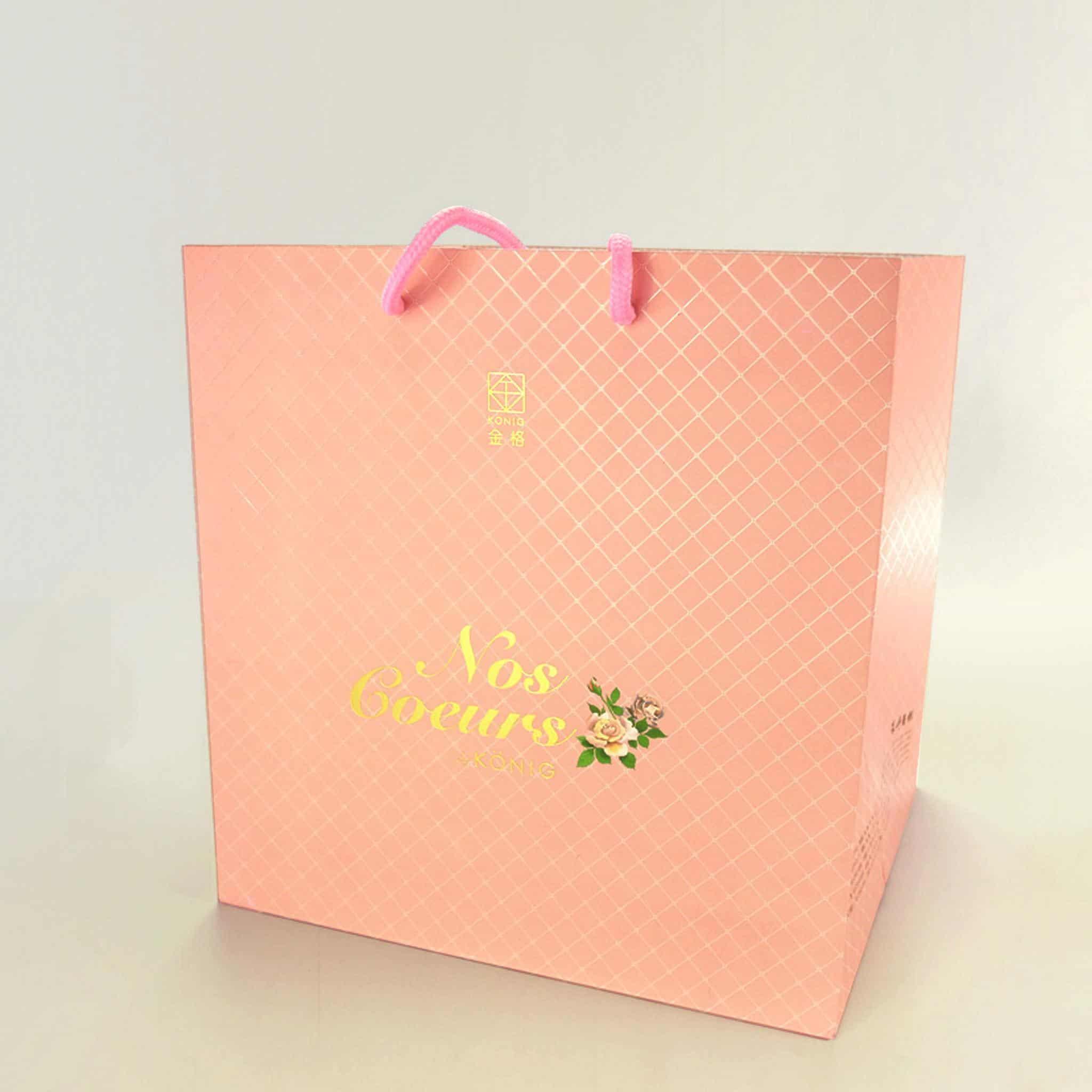 燙金銅板手提紙袋