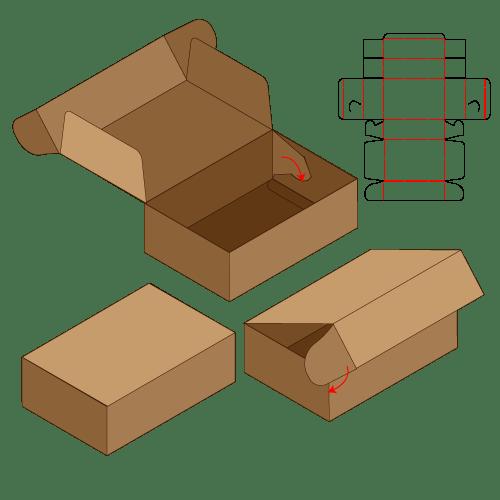 披薩折盒飛機盒盒型