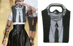 Karl Lagerfeld:Goggle Bag