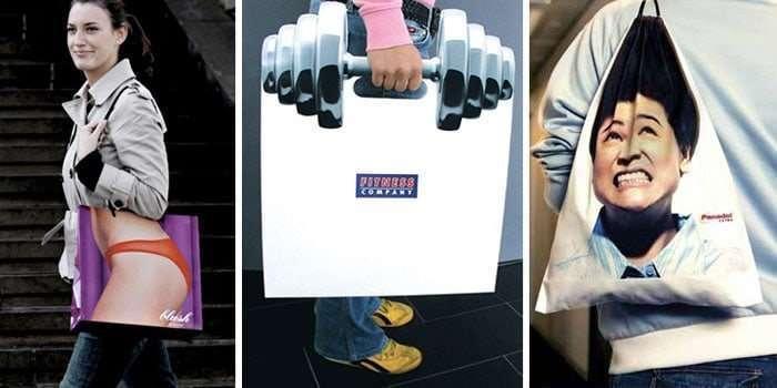 30個創意包裝紙袋提袋購物袋設計