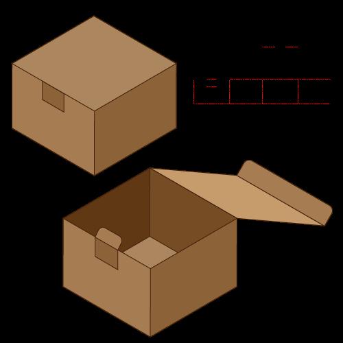 日式插底盒型