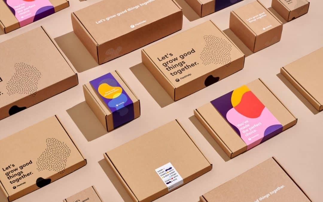 牛皮包裝盒包裝設計印刷
