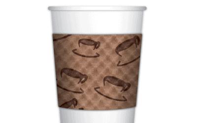咖啡杯套用途與設計來源