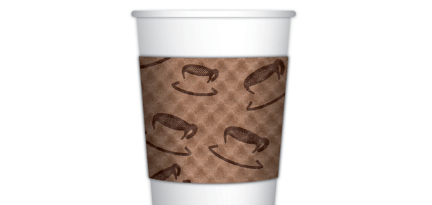 簡單的咖啡杯套也是一種偉大的發明。