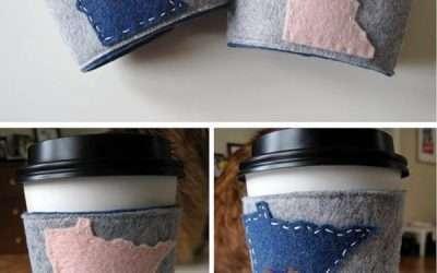 製作杯套的材質只有紙嗎? 還有9種超特別的材質、顏色與作品!
