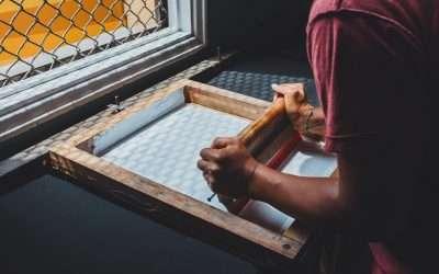 網版印刷是什麼? 與平版、凸版、凹版印刷的差異?