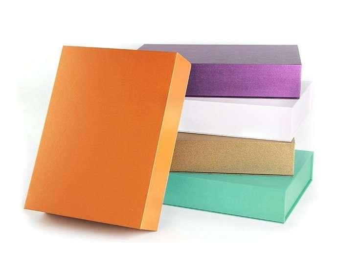 美術紙書型盒