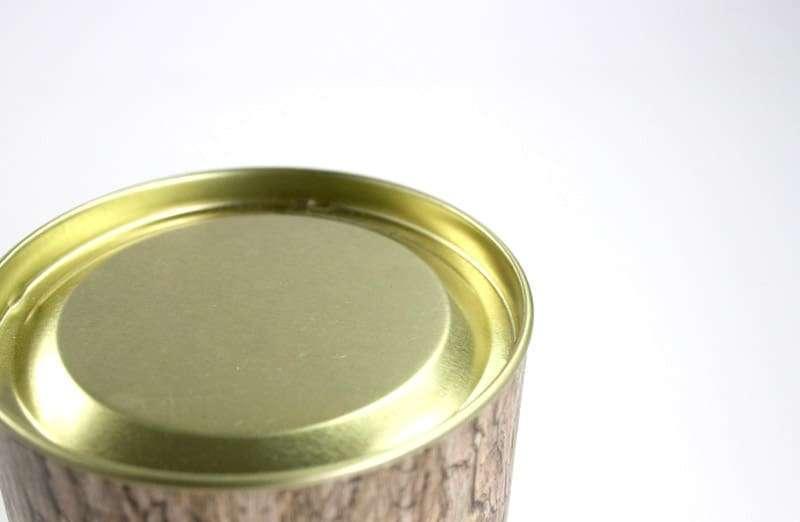 紙管-上凹蓋下馬口鐵蓋-無內管-金色