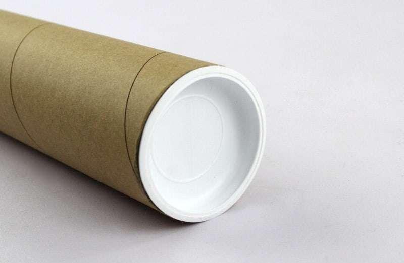 Paper-tube-description-雙頭PE蓋(無內管)-白蓋