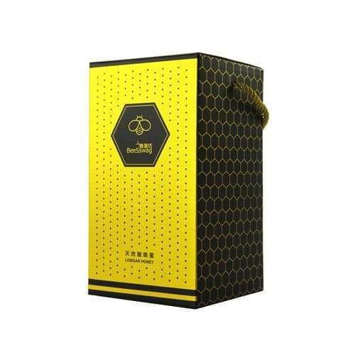 銀箔壓紋蜂蜜禮盒
