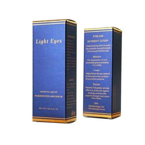 彩盒包裝設計插底盒
