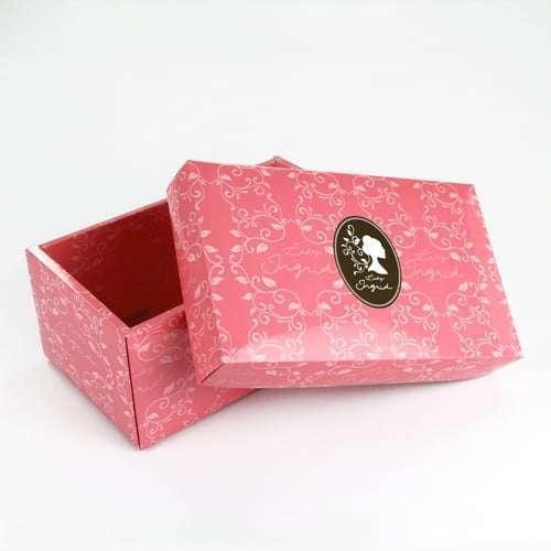 天地蓋摺盒