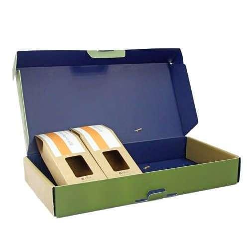 彩盒包裝設計上下蓋折盒