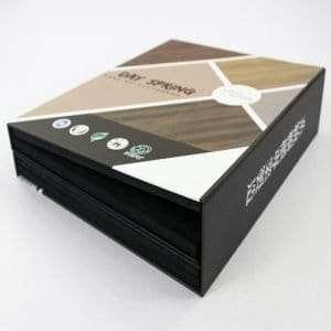 室內設計地板展示冊 地板展示本 色板樣品本 室內設計地板展示冊 樣品精裝冊 摺疊樣品冊
