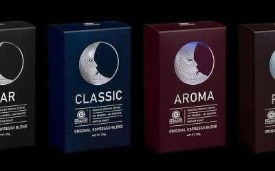 5個關於咖啡豆包裝設計的有趣靈感
