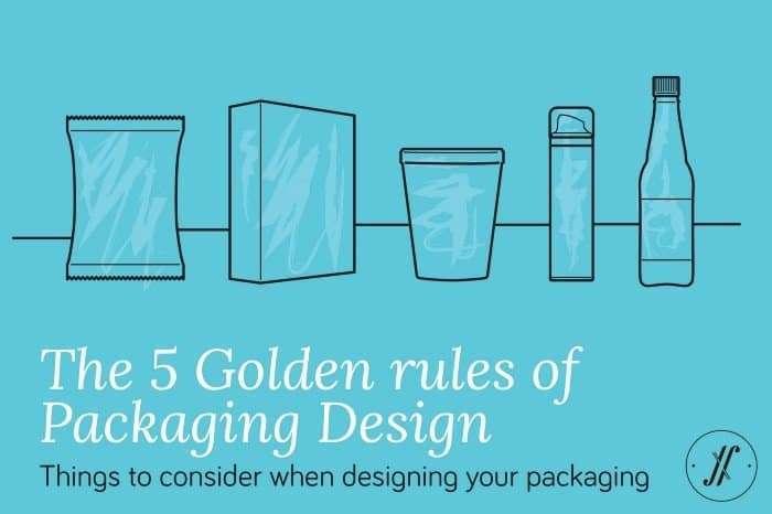 包裝設計的5個黃金法則