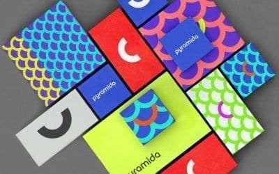 6種大膽的彩色包裝設計
