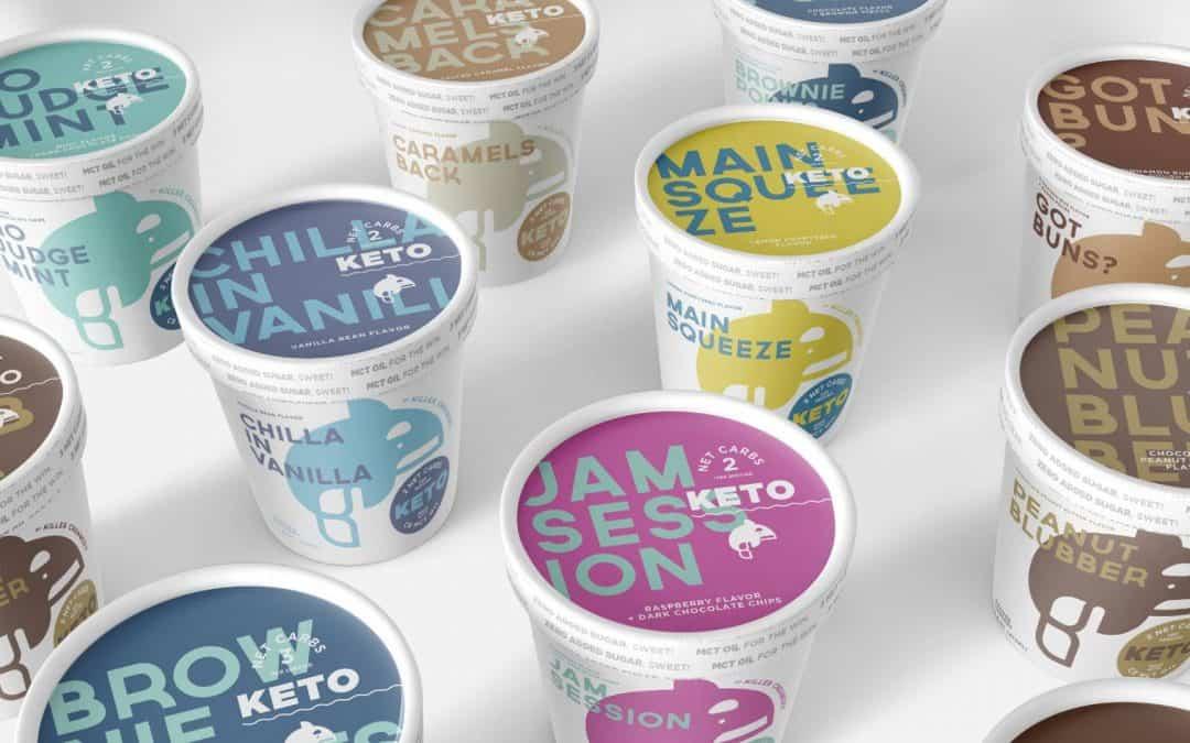 8種冰淇淋復古包裝設計