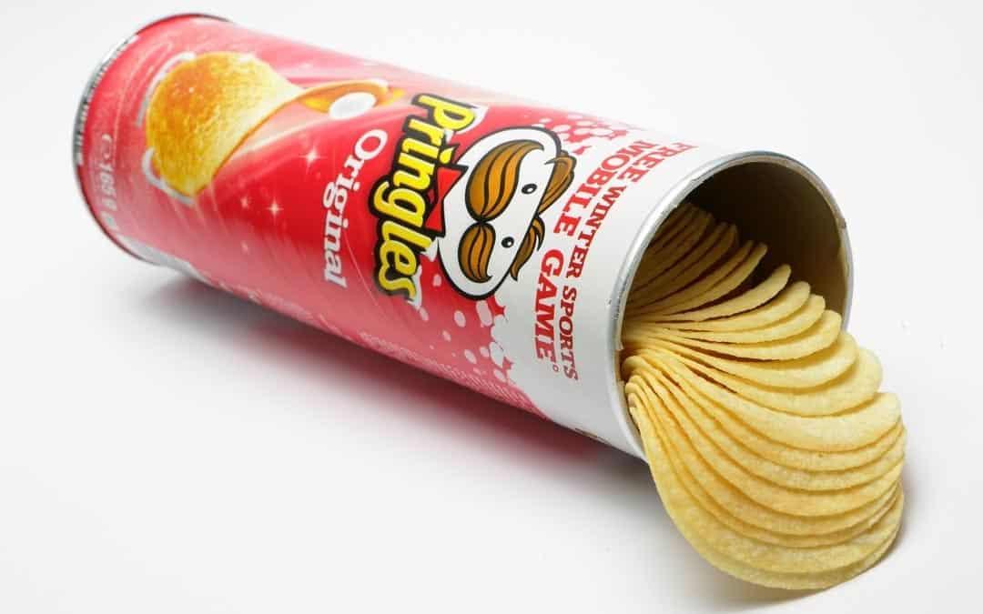 零食界的傳奇包裝:品客薯片
