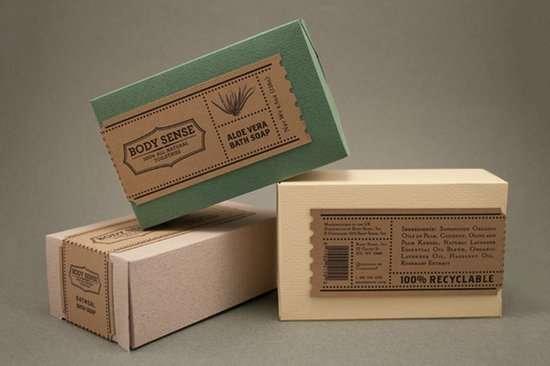 6款現代包裝設計和復古風格的例子