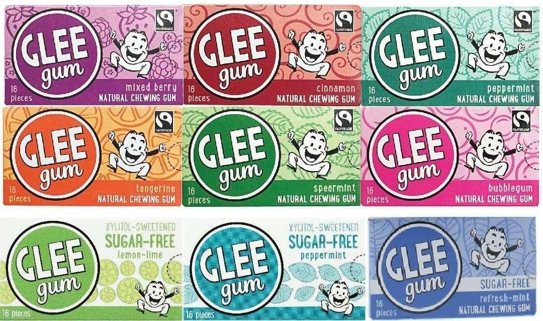 5 個無塑料口香糖品牌包裝