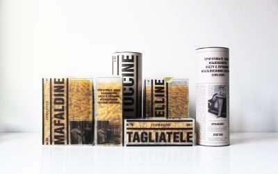 8種意大利麵條包裝設計