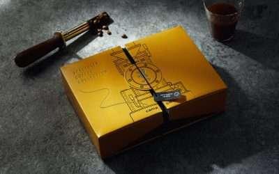 4款精品咖啡禮盒包裝設計