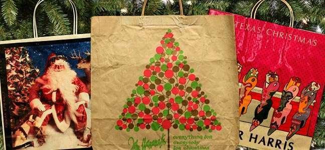 聖誕風格紙袋介紹(上)