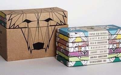 6款簡單而富有創意的盒子包裝設計