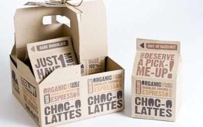 6款漂亮的巧克力包裝設計